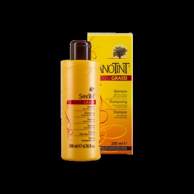 Шампунь для жирных волос «SanoTint»