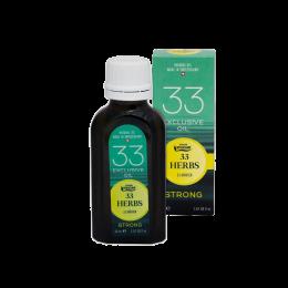 Эфирное масло 33 трав (strong)