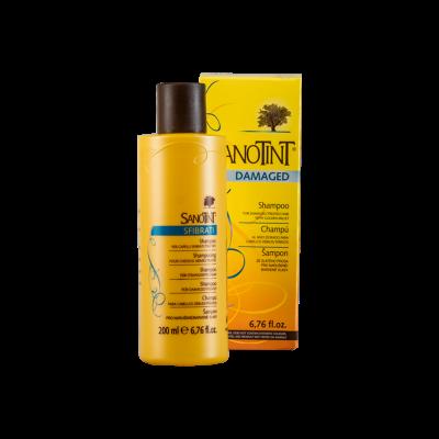 Шампунь для поврежденных волос «SanoTint»