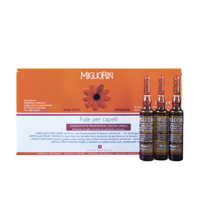 Ампулы для роста и лечеия волос Миглиорин